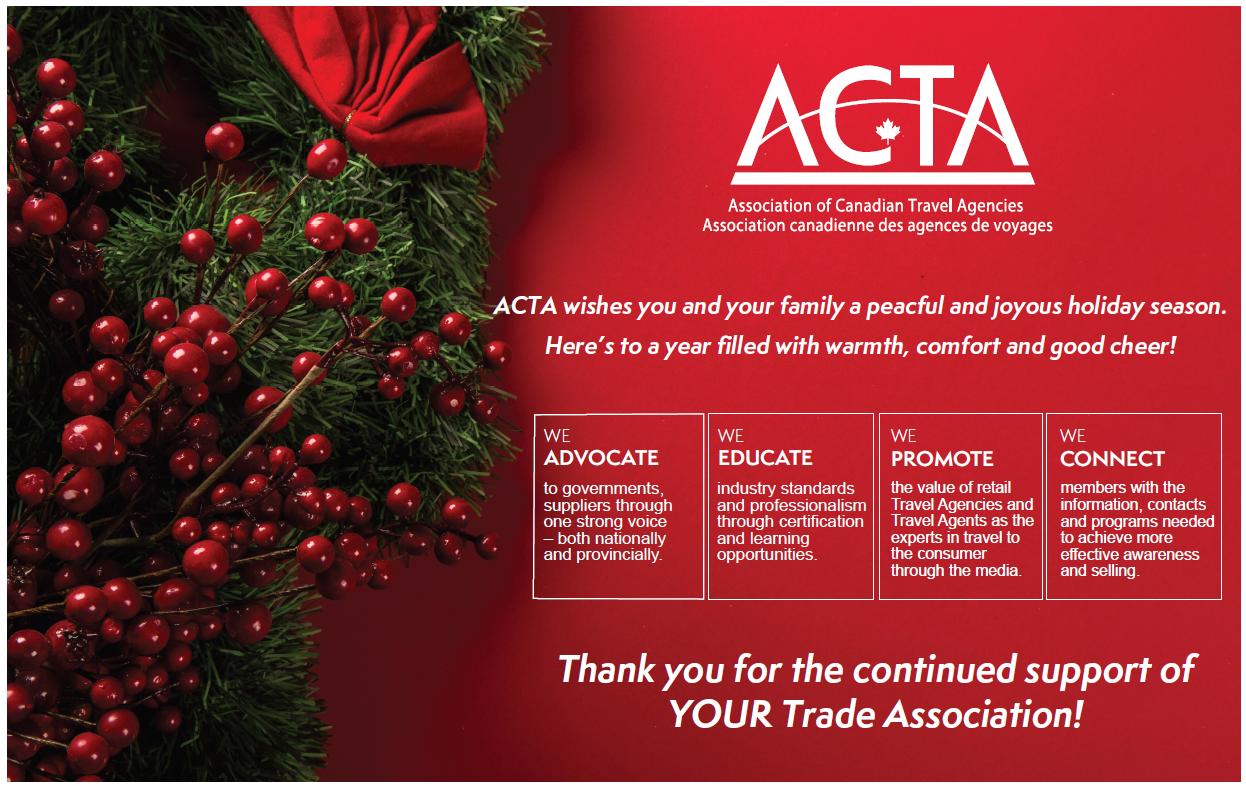 ACTA Happy Holidays